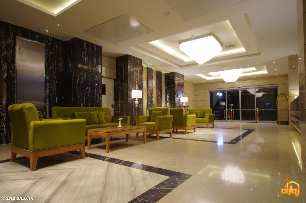 لابی هتل آپارتمان حیات شرق مشهد