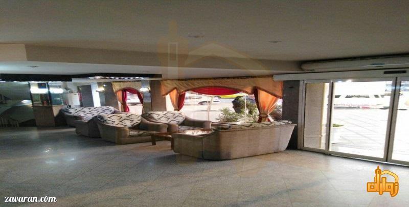فضای داخلی هتل آریا مشهد