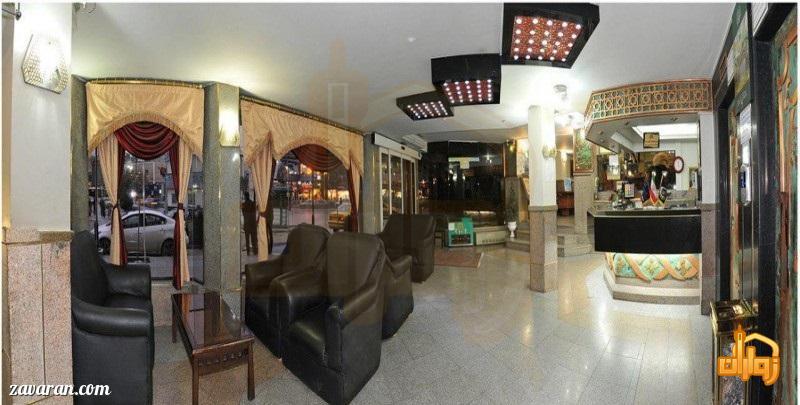 لابی هتل آریا مشهد