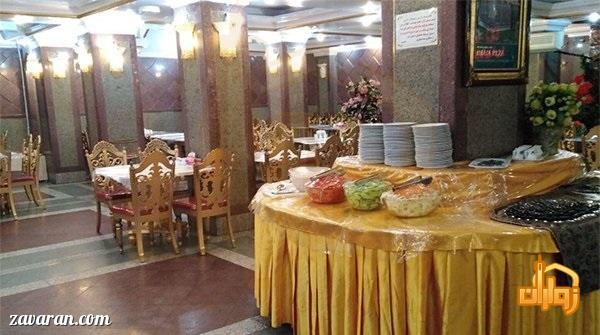 رستوران هتل آریا مشهد