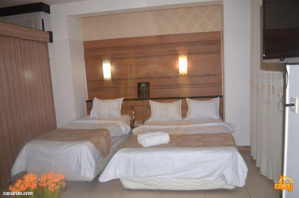 رزرو اتاق سه تخته هتل آریا مشهد