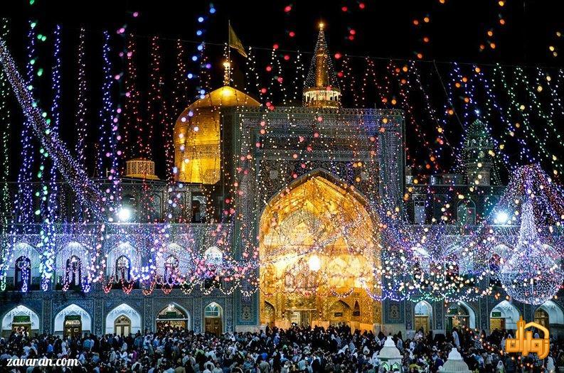 قیمت هتل در مشهد در عید قربان و غدیر