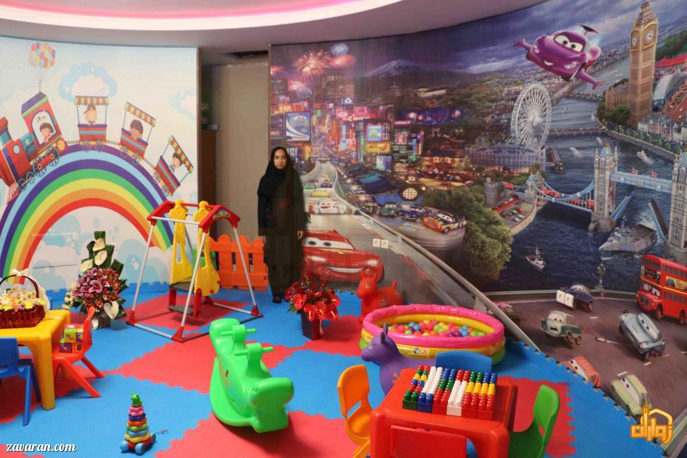 اتاق بازی کودک هتل سی نور مشهد
