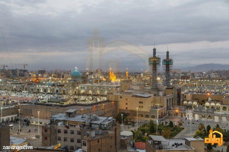 هتل های نزدیک حرم خیابان امام رضا مشهد