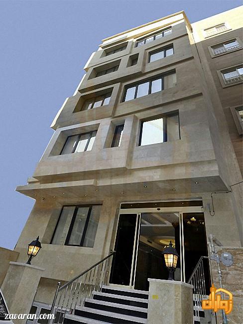قیمت هتل آپارتمان مرصاد در مشهد برای نیمه شعبان98