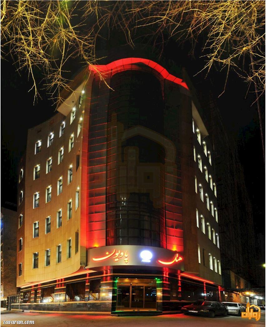 قیمت هتل آپارتمان پاویون مشهد برای نیمه شعبان
