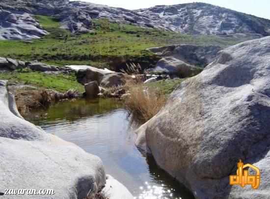 پارک هفت حوض در بهار