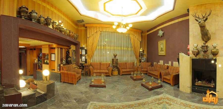 لابی هتل آپارتمان ملل مشهد