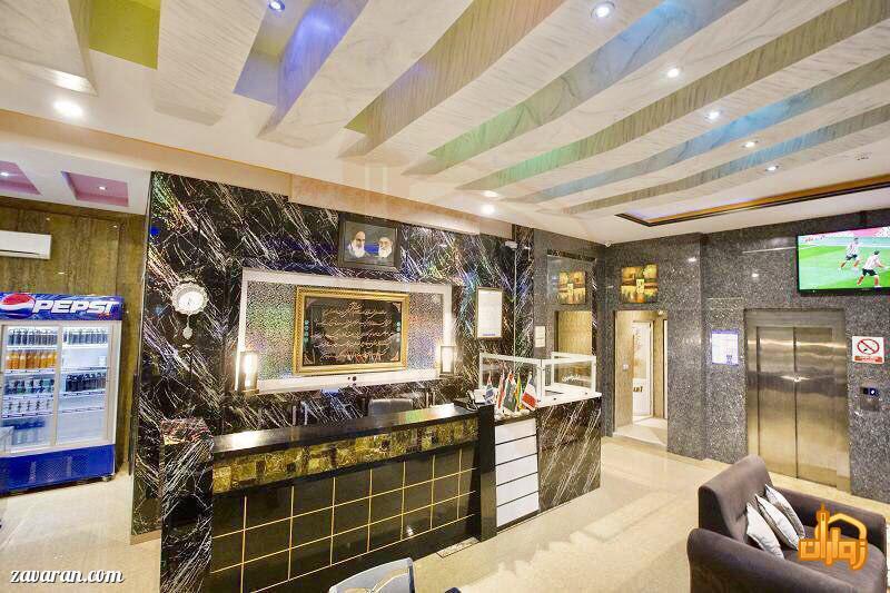پذیرش هتل اولیا مشهد