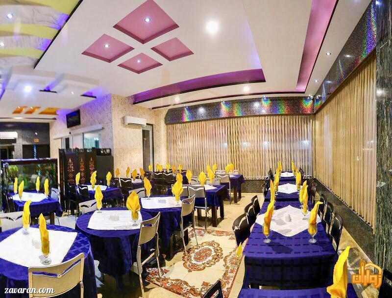 رستوران هتل اولیا مشهد