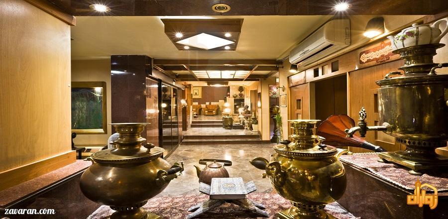فضای داخلی هتل آپارتمان ملل مشهد