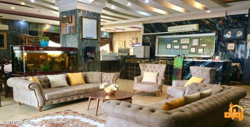 لابی هتل اولیا مشهد
