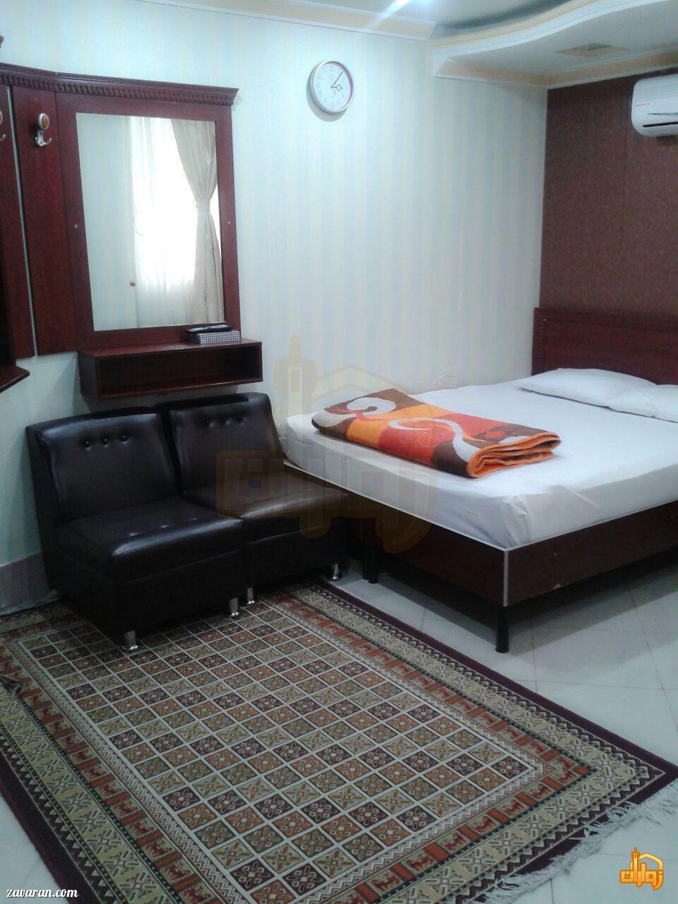رزرو اتاق در هتل آپارتمان سفرا طلایی مشهد