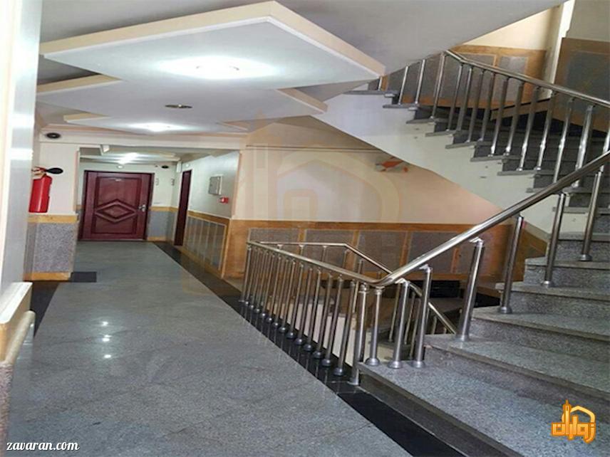 راهروی هتل آپارتمان سفرا طلایی مشهد