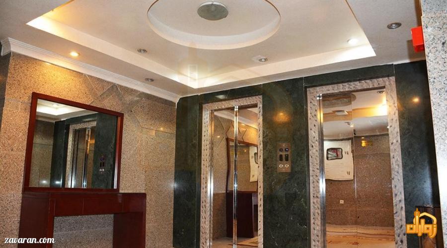 آسانسورهای هتل هلیا مشهد