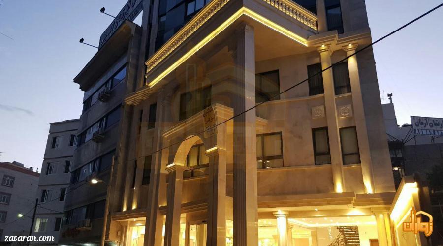 قیمت هتل نسیم مشهد در عید نوروز 98