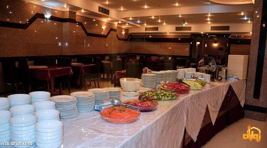 سالاد بار هتل هلیا مشهد
