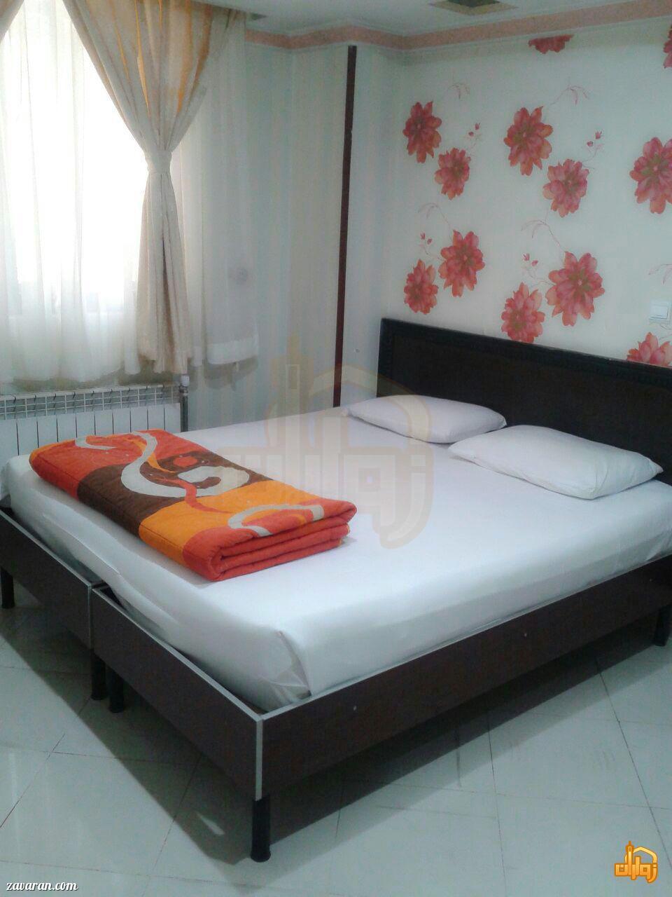 رزرو اتاق دو تخته هتل آپارتمان سفرا طلایی مشهد