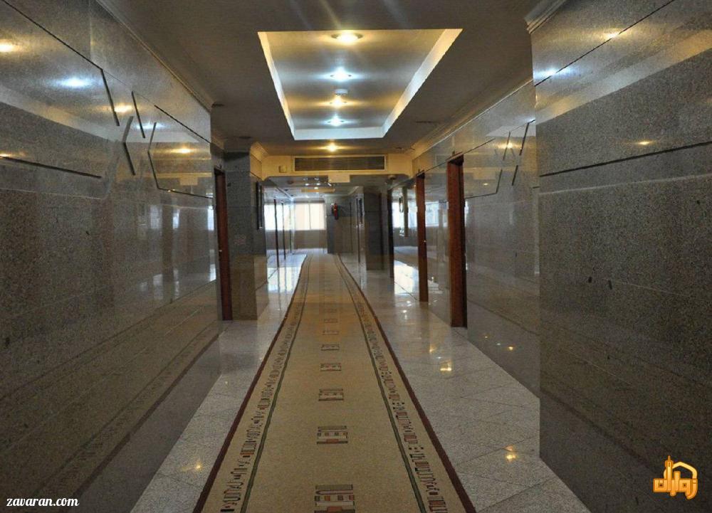 راهرو هتل هلیا مشهد