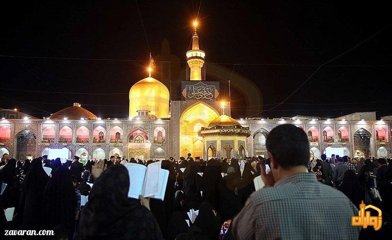 قیمت هتل در مشهد در شب های قدر