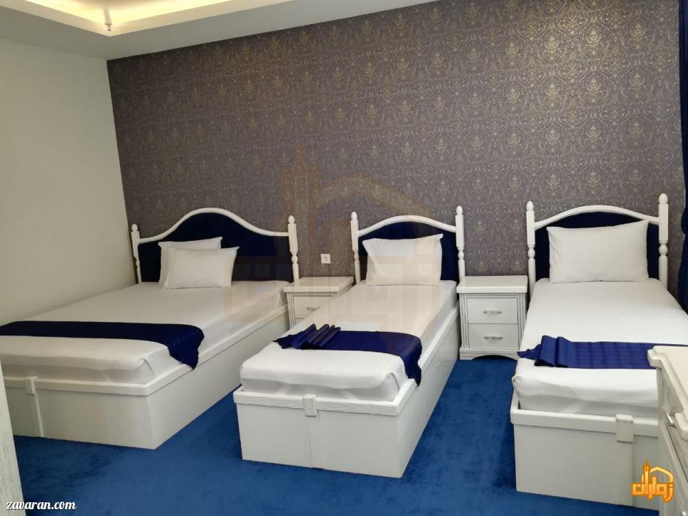 رزرو اتاق سه تخته هتل آپارتمان سلما مشهد