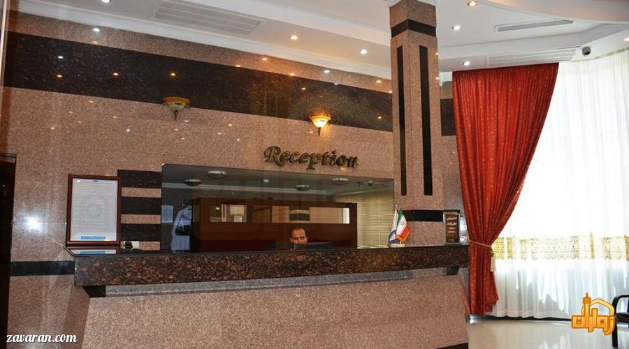 پذیرش هتل هلیا مشهد