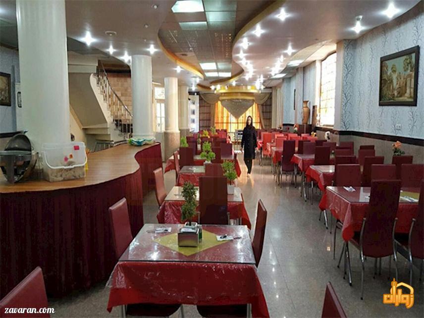 رستوران هتل آپارتمان سفرا طلایی مشهد