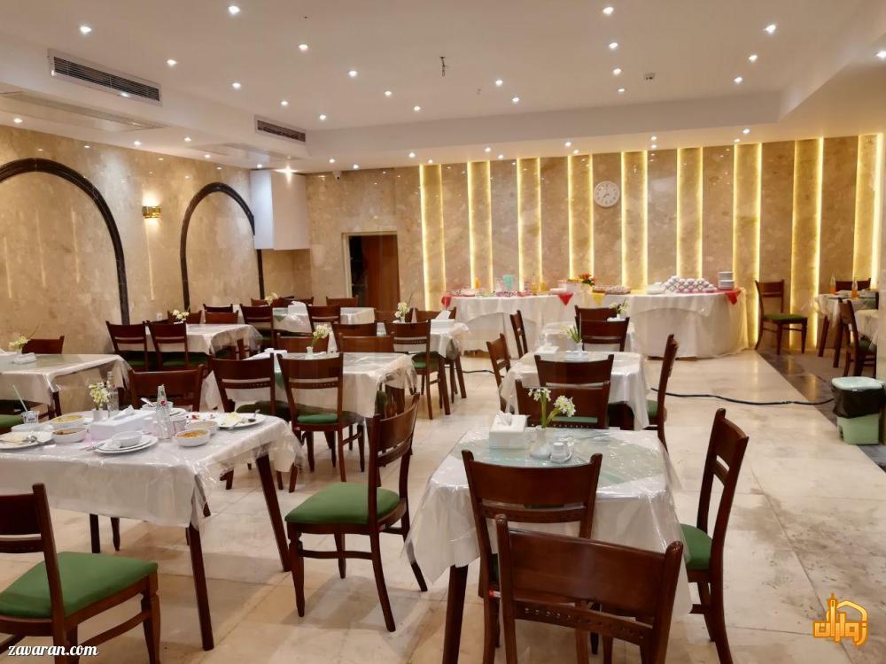رستوران هتل آپارتمان سلما مشهد