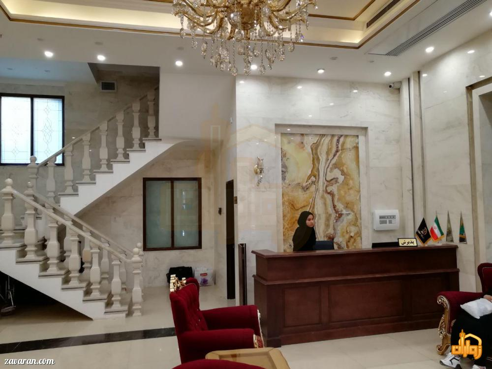 پذیرش هتل آپارتمان سلما مشهد