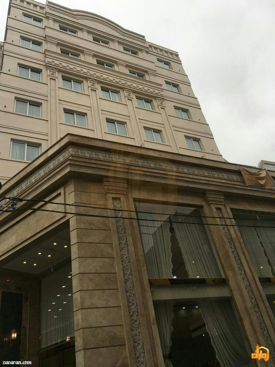 قیمت هتل سامرا مشهد در ایام نوروز 98