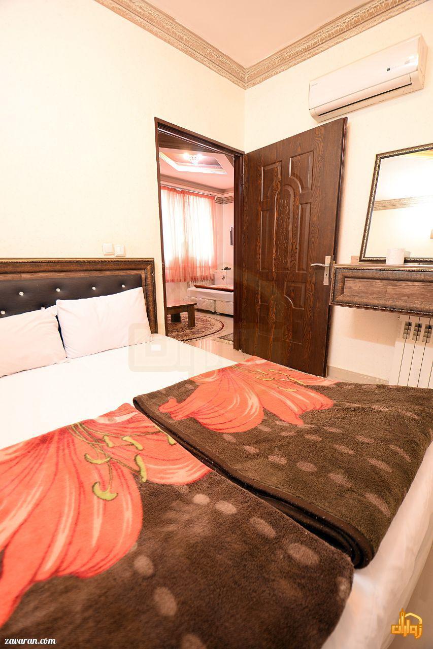 رزرو اتاق در هتل آپارتمان پریا مشهد