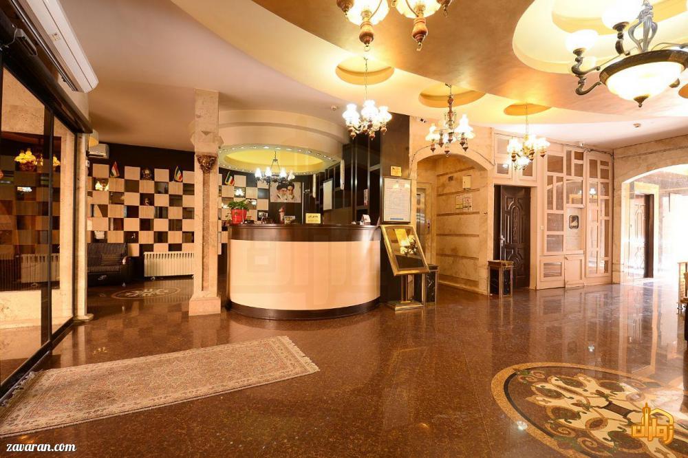 پذیرش هتل آپارتمان پریا مشهد