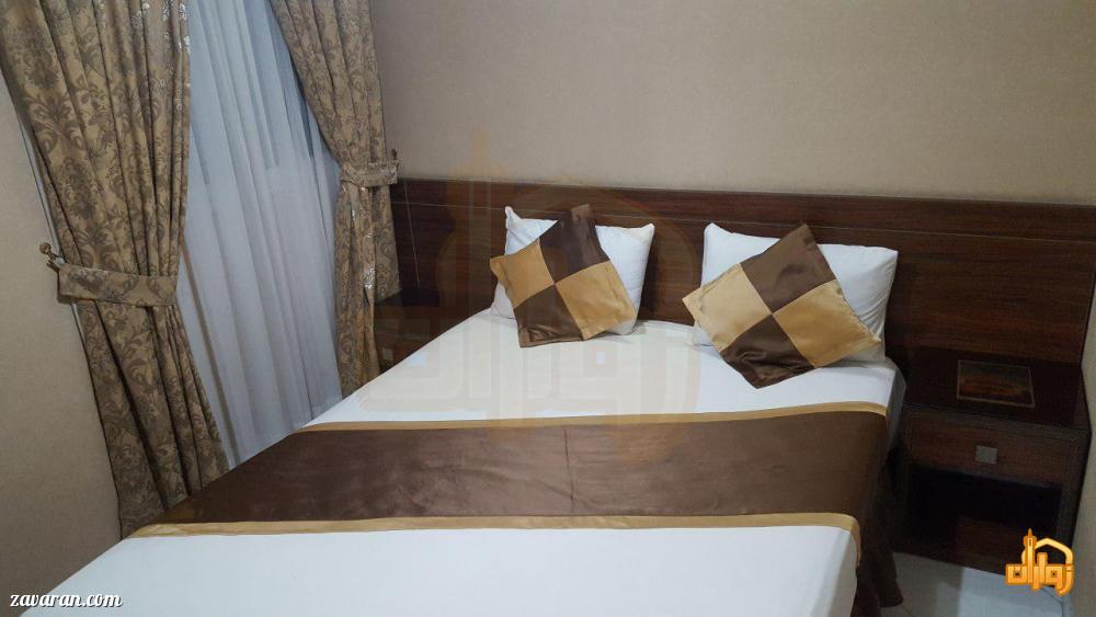 رزرو اتاق دو تخته هتل آپارتمان لبخند مشهد