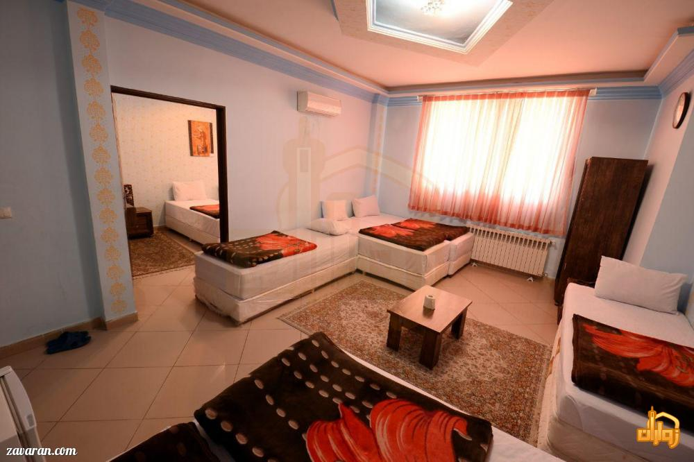 رزرو اتاق یک خوابه در هتل آپارتمان پریا مشهد