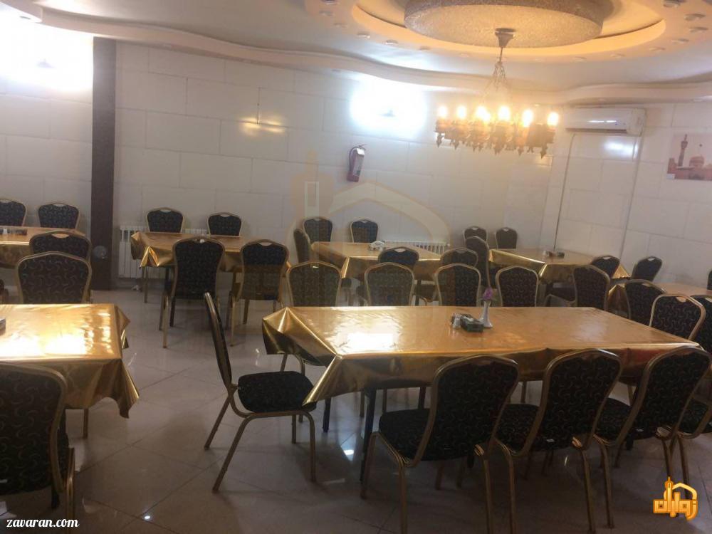رستوران هتل آپارتمان پریا مشهد
