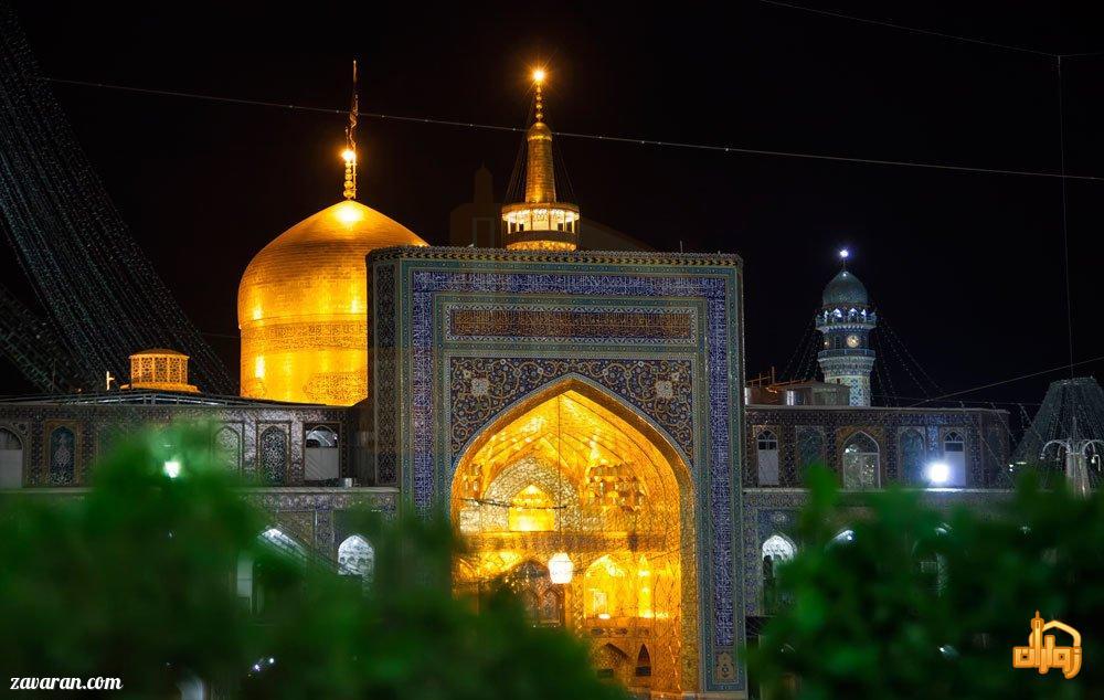 قیمت هتل در مشهد در تاریخ 1تا7 بهمن98