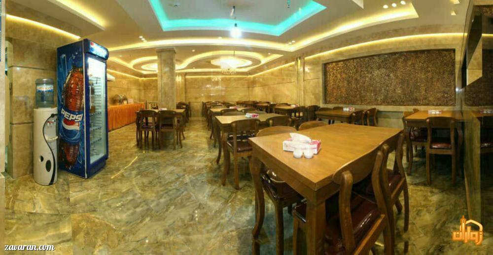 رستوران هتل آپارتمان دوستان مشهد