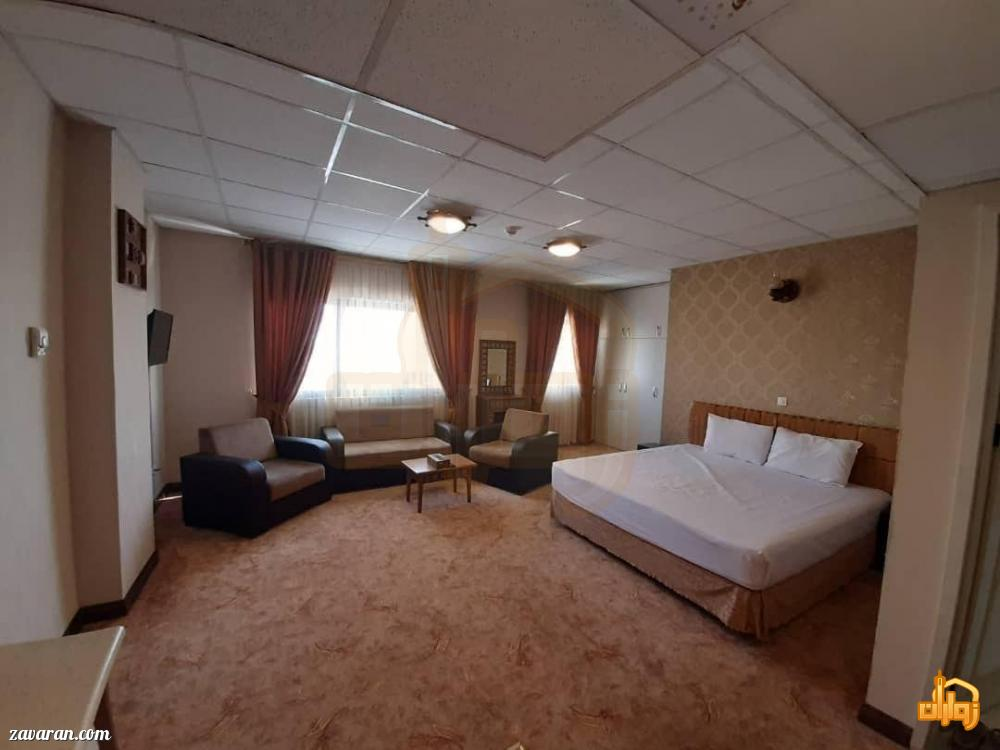 رزرو اتاق دو تخته هتل شارستان طلایی مشهد