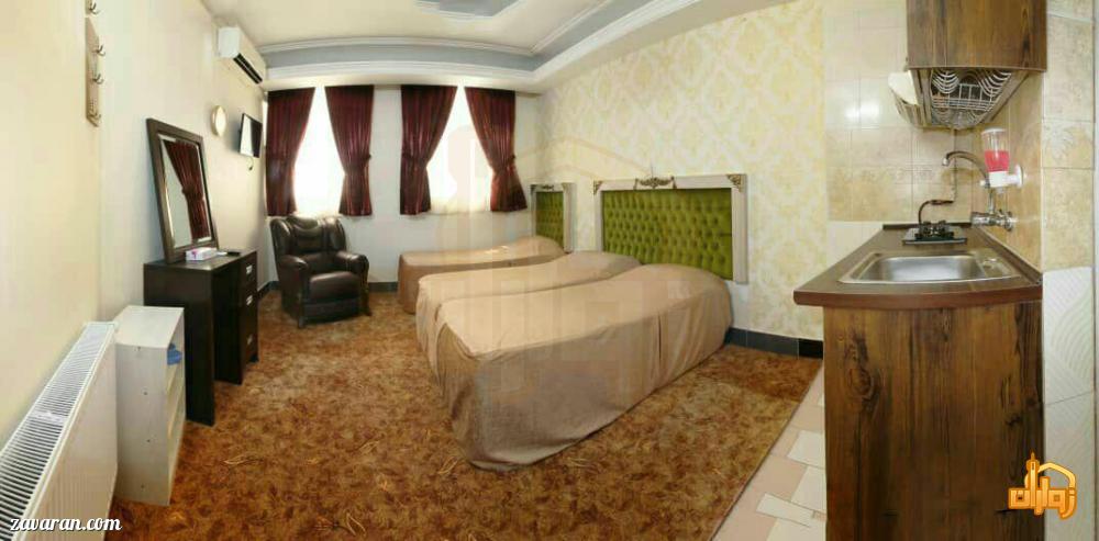 رزرو هتل آپارتمان دوستان مشهد