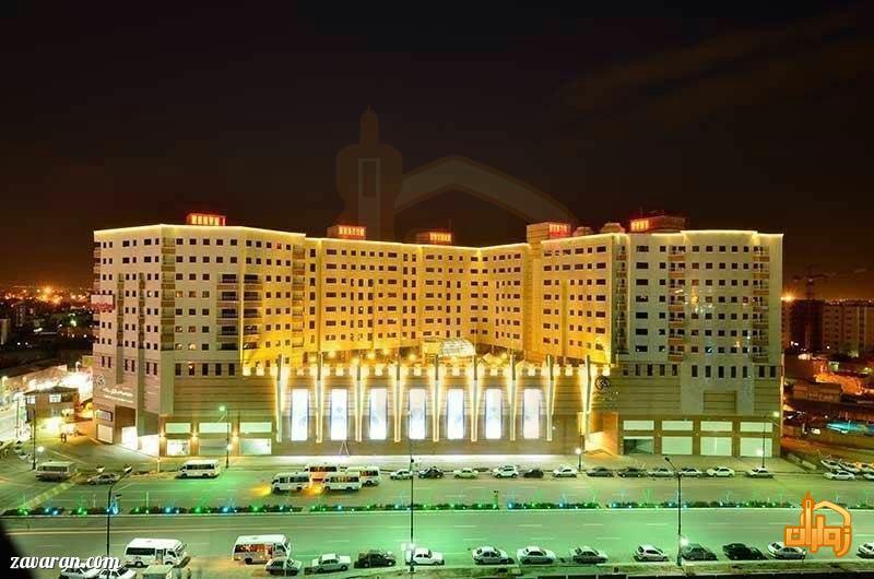 ساختمان هتل شارستان طلایی مشهد