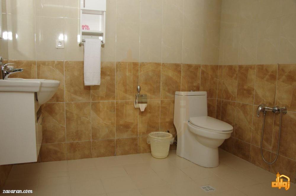 سرویس بهداشتی اتاق های هتل شارستان طلایی مشهد