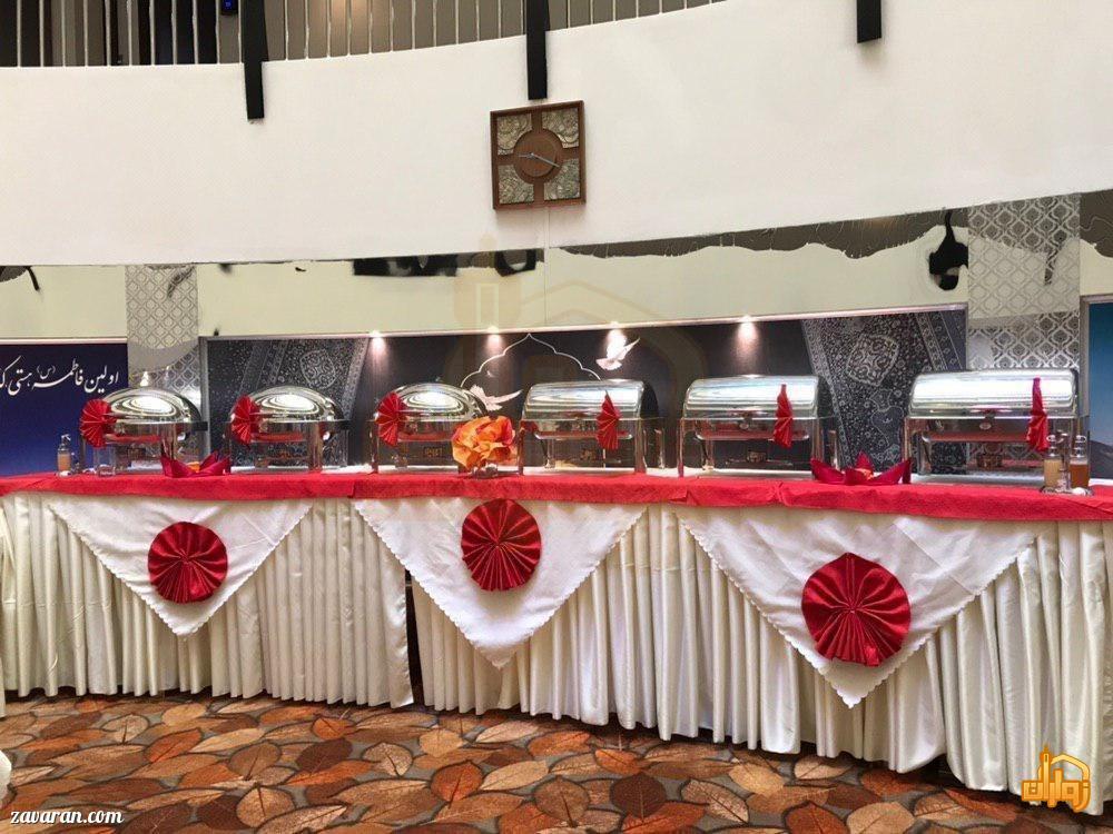 بوفه هتل شارستان طلایی مشهد