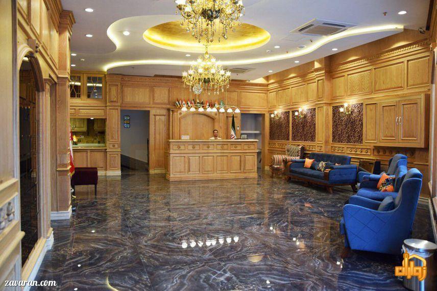 پذیرش هتل ساعت مشهد