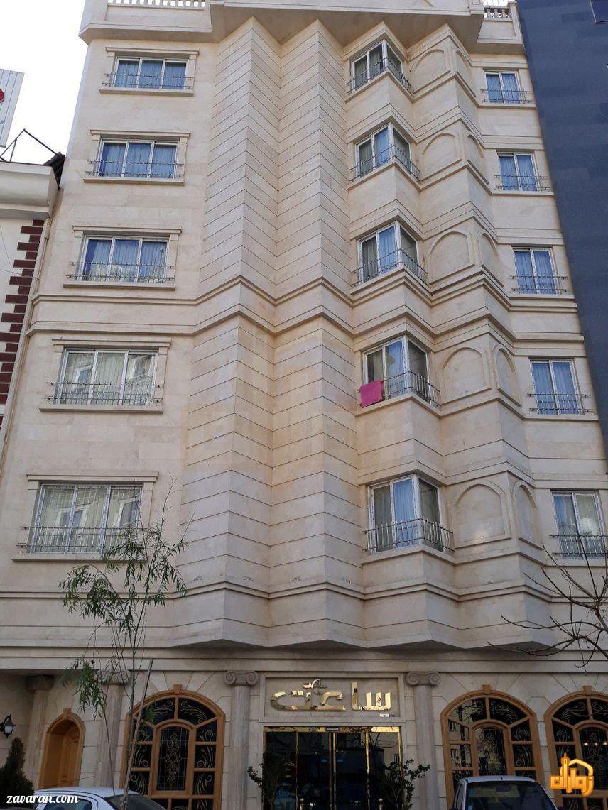 ساختمان هتل ساعت مشهد