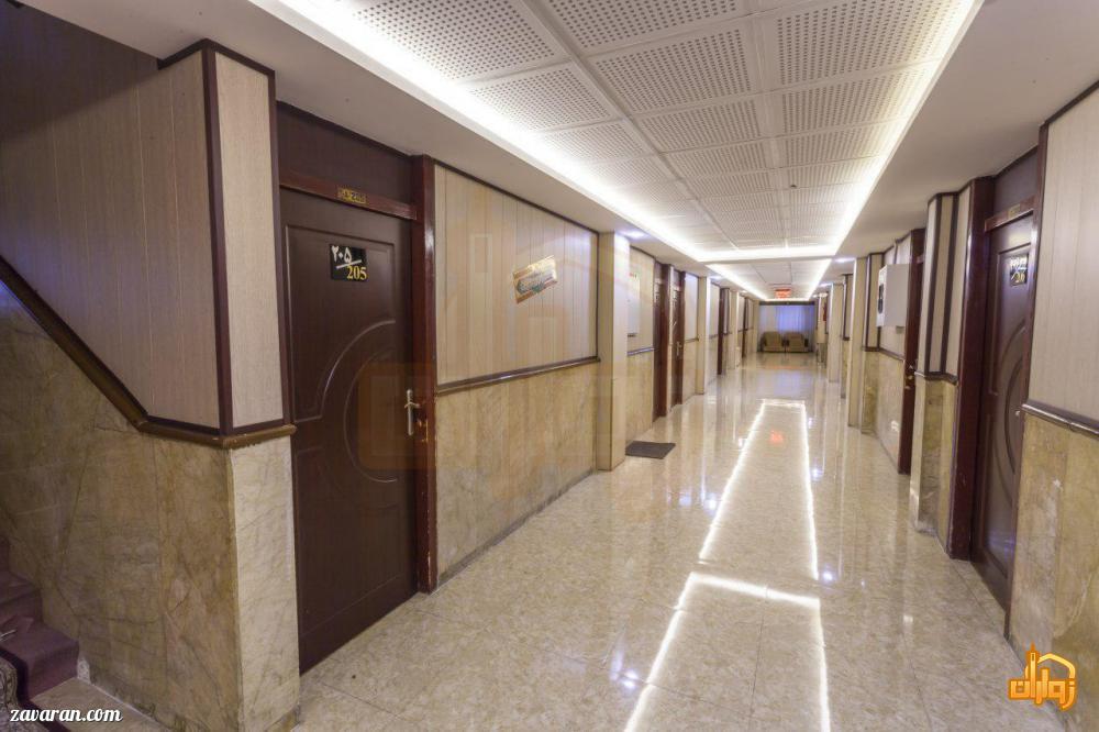 راهرو هتل قدس مشهد