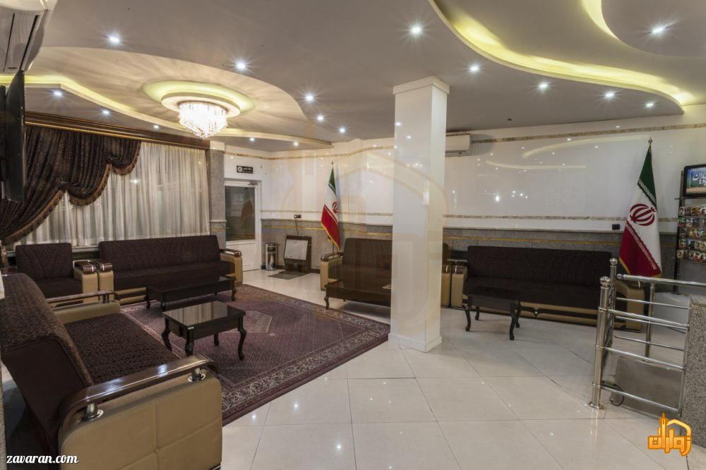 لابی هتل قدس مشهد