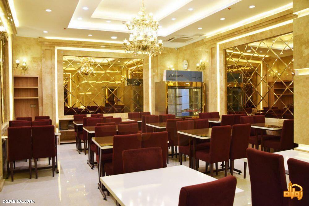 رستوران هتل ساعت مشهد