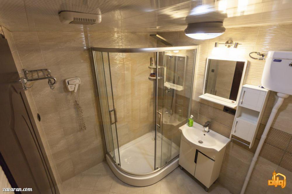 سرویس بهداشتی اتاق های هتل قدس مشهد