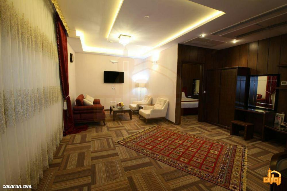 رزرو اتاق در هتل تبریز مشهد