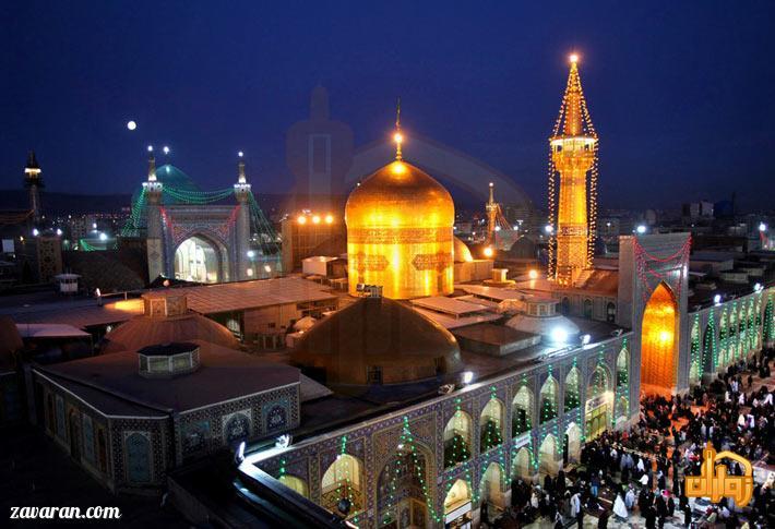 قیمت هتل های مشهد در عید